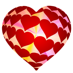 Herz Reihe 3