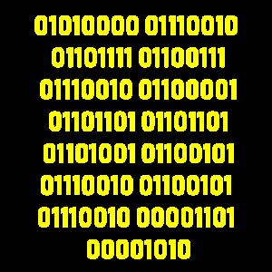 programmierer binärcode geschenk