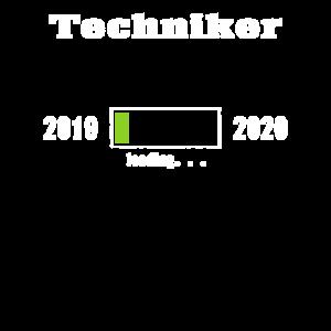 Techniker 2019 - 2020 Ladebalken T-Shirt