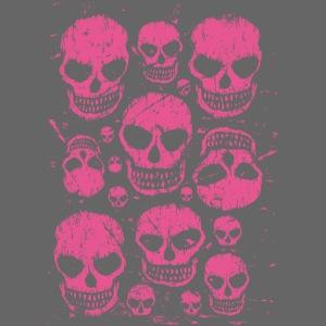 Voodoo Skulls (Pink)