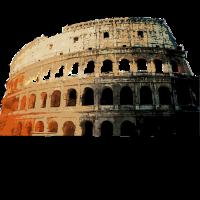 Rome Colosseum Italy Present