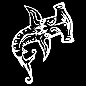 Maori Hai Hammerhai Hammerkopf Hai Tribal Tattoo