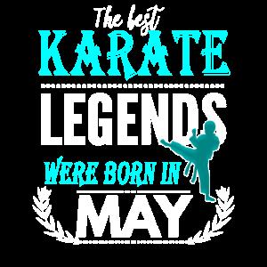 Karate Legends werden im Mai geboren