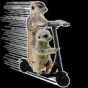 Escooting Ermännchen Escooter Elektroroller
