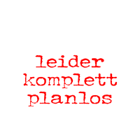 LK Geschichte - leider komplett planlos!