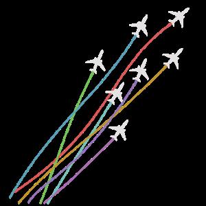 Flugzeugstaffel Fliegerstaffel Formation Flug