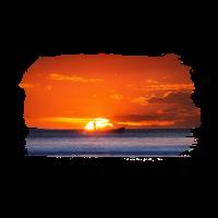 Sonnenuntergang Fischerboot Meer Geschenke