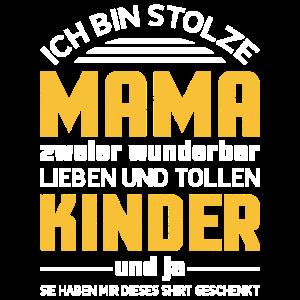 Mama Mutter lustiger Spruch Kinder Sohn Tochter