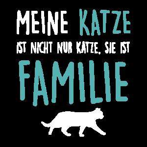 Katze Familie Katzen Katzendame Kätzchen Geschenk