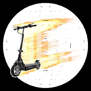 Escooter Electroroller E-Roller escooting enjoy