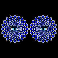 Augen, Illusion