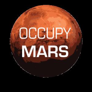 Occupy Mars - Planet - Geschenk