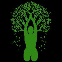 Yoga Baum Lebensbaum Meditation Natur Geschenk