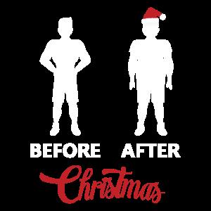 Vor Weihnachten und nach Weihachten