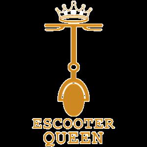 Escooter Electroroller E-Roller escooting Queen