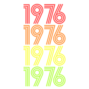 1976 Geburtstagsgeschenk Baujahr Geburtsjahr 76