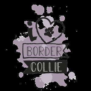 I LOVE BORDER COLLIE - VIOLETT