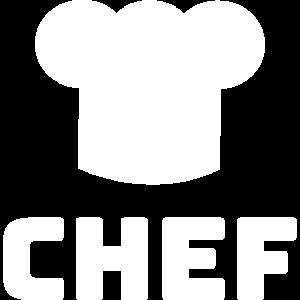 Chefkoch Chefköchin Kochmütze Kochen Geschenkidee