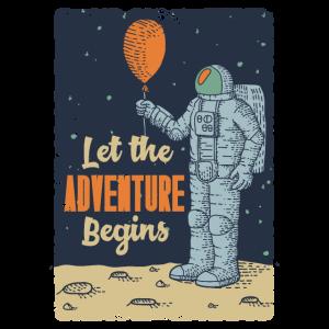 Let the Adventure Begins Geschenkidee