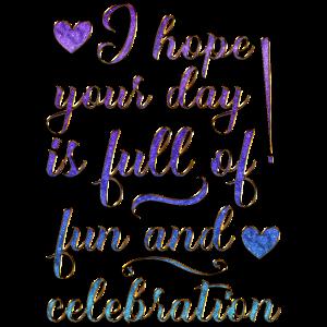 Fun And Celebration
