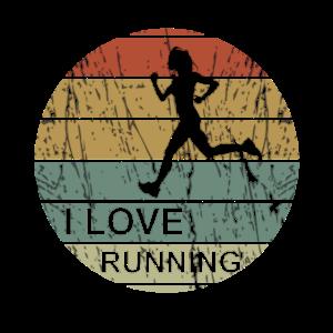 I love running retro - Laufen, Marathon, Run