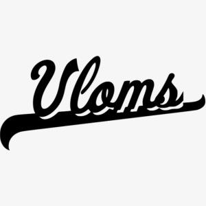 Zwart logo Vloms