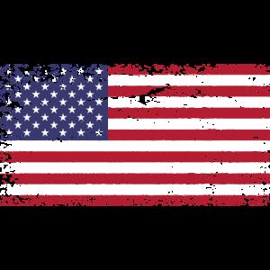 Flagge von United States of America USA
