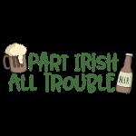 Irischer St. Patrick's Tag - Feiern Bier und Party