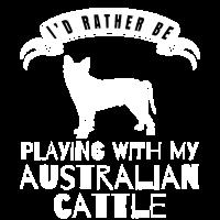 Ich würde eher mit meinem Australier spielen