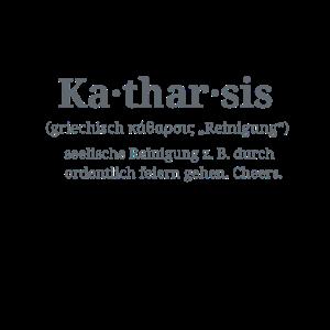 Katharsis durch ordentlich feiern gehen