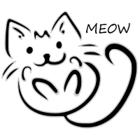 meow schwarz