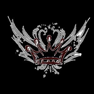 Krone mit Flügeln