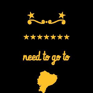 Ecuador Geschenke lustiger Spruch Ecuadorianer