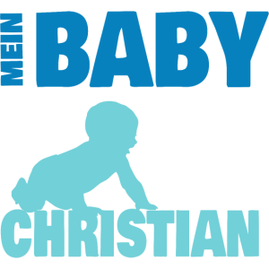 Baby CHRISTIAN Name Geschenk
