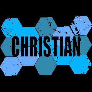 Style Artwork Vintage CHRISTIAN
