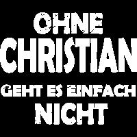 Ohne CHRISTIAN unmoeglich