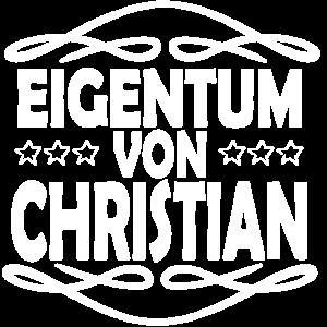 Eigentum CHRISTIAN Besitz