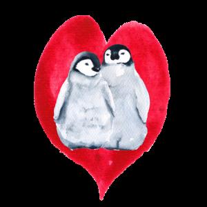 Pinguine in der Liebe