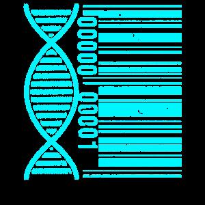 DNA DNS Biologie Wissenschaft Chemie Code Nerd