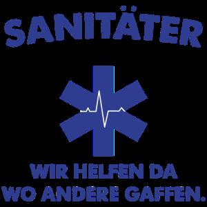 Notfall-Sanitäter Ersthelfer Geschenk Stolz