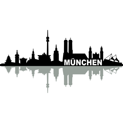 Skyline München Name - Skyline München Name - wahrzeichen,stadt,stadion,skyline,sehenswürdigkeit,panorama,oktoberfest,münchner,münchen,kirche,gebäude,frauenkirche,denkmal,bayern,Silhouette