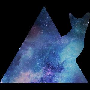 Galaxy Katzen Space Shirt - Männer / Frauen