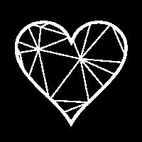 Herz - Geometrisch - Liebe - Valentin