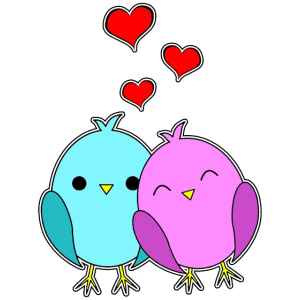 Liebesvögel - Love Birds