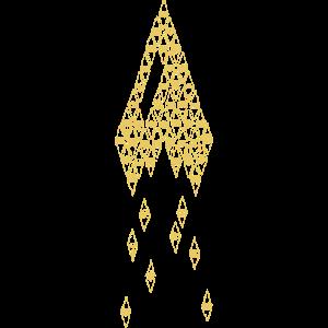 Zwerg Rakete Gelb