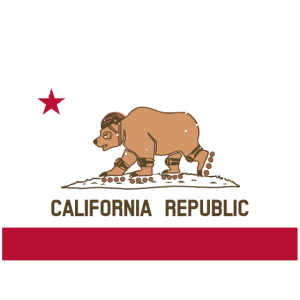 Kalifornien Republik Winter