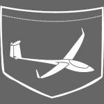 brusttasche asg29 Segelflieger Flieschen