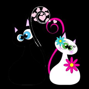 Katzendame Katzengesicht