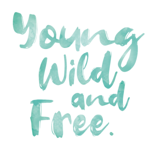 Young, Wild and Free - grünblau