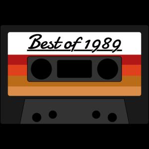 1989 Musikkassette